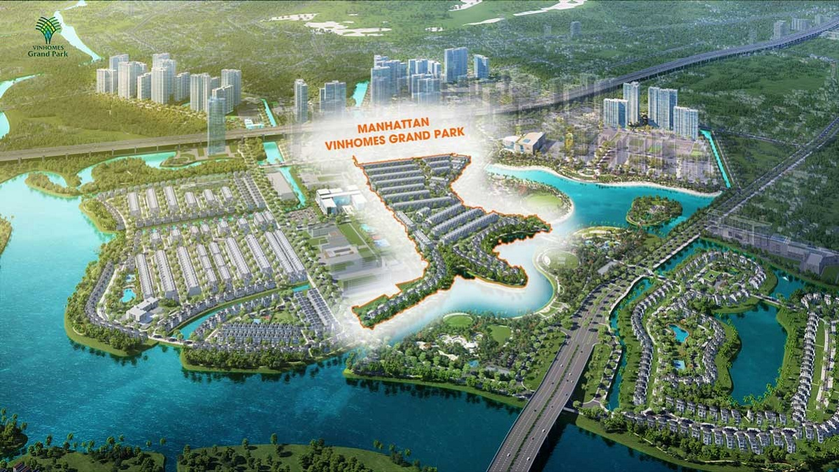 biệt thự - the manhattan - Vinhomes Grand Park